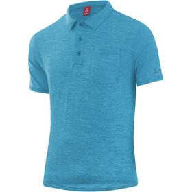 Löffler Softtouch CF Poloshirt Men, enamel blue